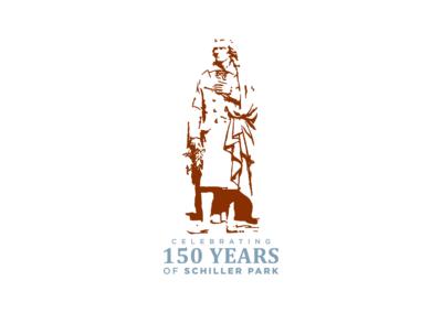150 Years of Schiller Park Logo