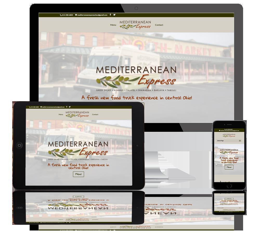 Mediterranean Express web portfolio
