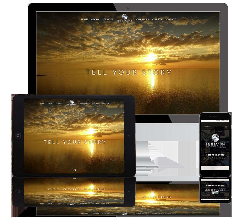 triumph pictures web portfolio