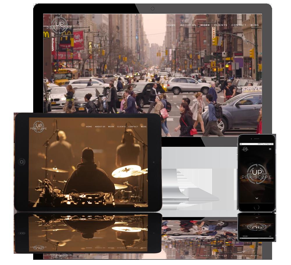 up periscope web portfolio
